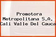 Promotora Metropolitana S.A. Cali Valle Del Cauca