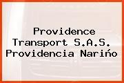 Providence Transport S.A.S. Providencia Nariño