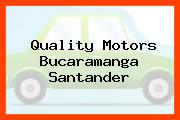 Quality Motors Bucaramanga Santander