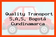 Quality Transport S.A.S. Bogotá Cundinamarca