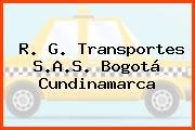 R. G. Transportes S.A.S. Bogotá Cundinamarca
