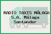 RADIO TAXIS MÁLAGA S.A. Málaga Santander