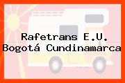 Rafetrans E.U. Bogotá Cundinamarca