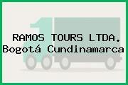 RAMOS TOURS LTDA. Bogotá Cundinamarca