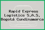 Rapid Express Logistics S.A.S. Bogotá Cundinamarca