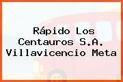 Rápido Los Centauros S.A. Villavicencio Meta