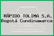 Rapido Tolima S.A. Bogotá Cundinamarca