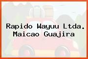 Rapido Wayuu Ltda. Maicao Guajira