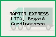 RAPTOR EXPRESS LTDA. Bogotá Cundinamarca
