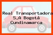 Real Transportadora S.A Bogotá Cundinamarca