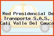 Red Presidencial De Transporte S.A.S. Cali Valle Del Cauca
