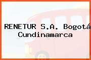 Renetur S.A. Bogotá Cundinamarca