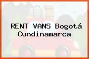 RENT VANS Bogotá Cundinamarca