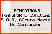 RINCOTRANS TRANSPORTE ESPECIAL S.A.S. Cúcuta Norte De Santander