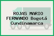 ROJAS MARIO FERNANDO Bogotá Cundinamarca