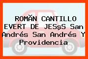 ROMÃN CANTILLO EVERT DE JESºS San Andrés San Andrés Y Providencia