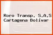 Roro Transp. S.A.S Cartagena Bolívar