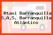 Rtaxi Barranquilla S.A.S. Barranquilla Atlántico