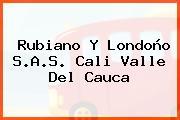 Rubiano Y Londoño S.A.S. Cali Valle Del Cauca