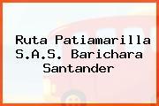 Ruta Patiamarilla S.A.S. Barichara Santander