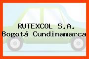 RUTEXCOL S.A. Bogotá Cundinamarca