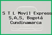 S T L Movil Express S.A.S. Bogotá Cundinamarca