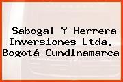 Sabogal Y Herrera Inversiones Ltda. Bogotá Cundinamarca