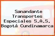 Sanandante Transportes Especiales S.A.S. Bogotá Cundinamarca