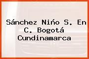 Sánchez Niño S. En C. Bogotá Cundinamarca