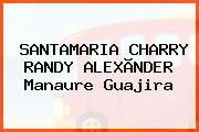 SANTAMARIA CHARRY RANDY ALEXÃNDER Manaure Guajira