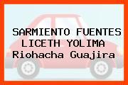 SARMIENTO FUENTES LICETH YOLIMA Riohacha Guajira