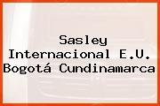 Sasley Internacional E.U. Bogotá Cundinamarca