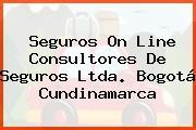 Seguros On Line Consultores De Seguros Ltda. Bogotá Cundinamarca