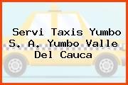 Servi Taxis Yumbo S. A. Yumbo Valle Del Cauca