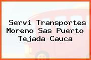 Servi Transportes Moreno Sas Puerto Tejada Cauca