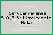 Serviarrayanes S.A.S Villavicencio Meta