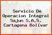 Servicio De Operacion Integral Sajun S.A.S. Cartagena Bolívar