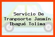 Servicio De Tranpsorte Jasmín Ibagué Tolima