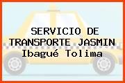 SERVICIO DE TRANSPORTE JASMIN Ibagué Tolima