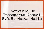 Servicio De Transporte Jostel S.A.S. Neiva Huila