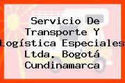 Servicio De Transporte Y Logística Especiales Ltda. Bogotá Cundinamarca