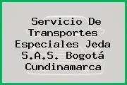 Servicio De Transportes Especiales Jeda S.A.S. Bogotá Cundinamarca