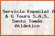 Servicio Especial A & G Tours S.A.S. Santo Tomás Atlántico