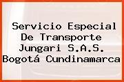 Servicio Especial De Transporte Jungari S.A.S. Bogotá Cundinamarca