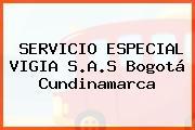 SERVICIO ESPECIAL VIGIA S.A.S Bogotá Cundinamarca