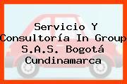Servicio Y Consultoría In Group S.A.S. Bogotá Cundinamarca