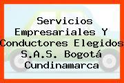 Servicios Empresariales Y Conductores Elegidos S.A.S. Bogotá Cundinamarca