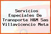 Servicios Especiales De Transporte H&M Sas Villavicencio Meta