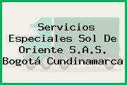 Servicios Especiales Sol De Oriente S.A.S. Bogotá Cundinamarca
