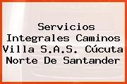 Servicios Integrales Caminos Villa S.A.S. Cúcuta Norte De Santander